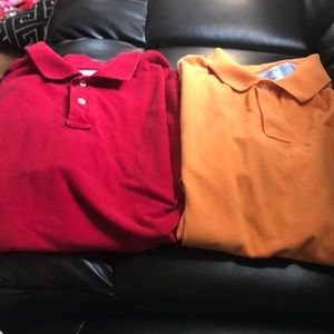 2 lands end polos